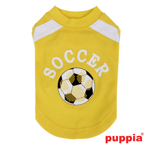 Worldpup Dog Shirt by Puppia - Yellow
