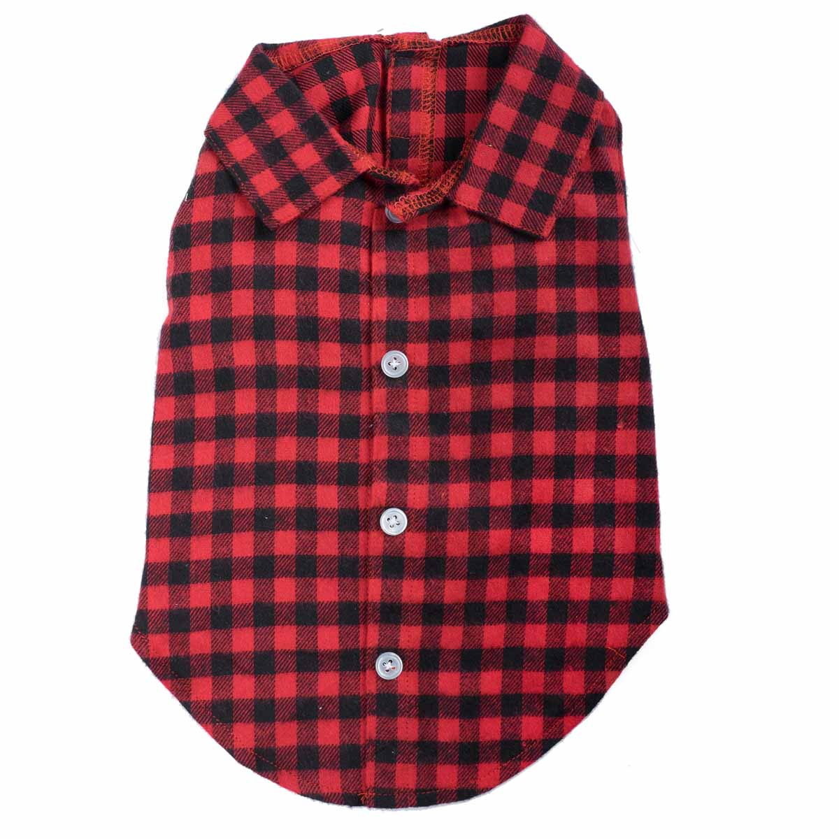 Worthy Dog Buffalo Plaid Dog Shirt Baxterboo