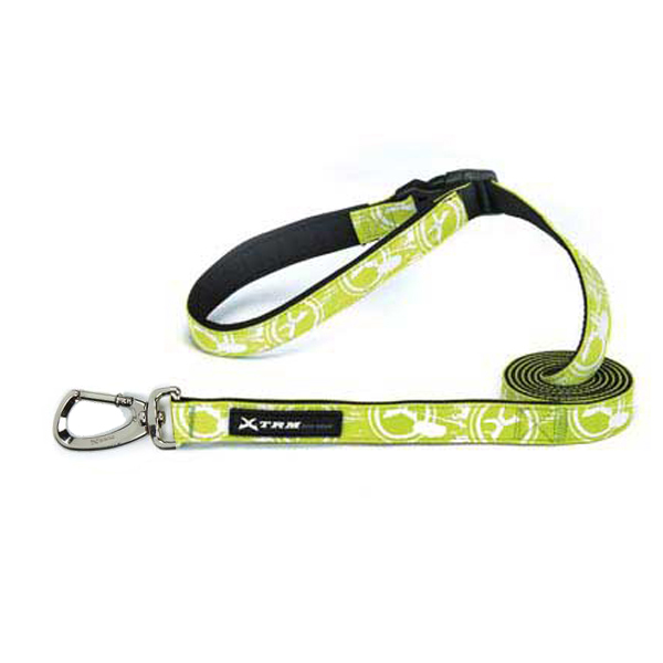 Xtrm Logo Dog Leash - Green