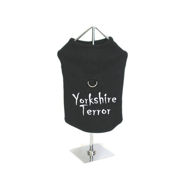 Yorkshire Terror Harness Shirt - Black