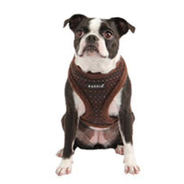 Yuppie Dog Harness by Puppia - Brown