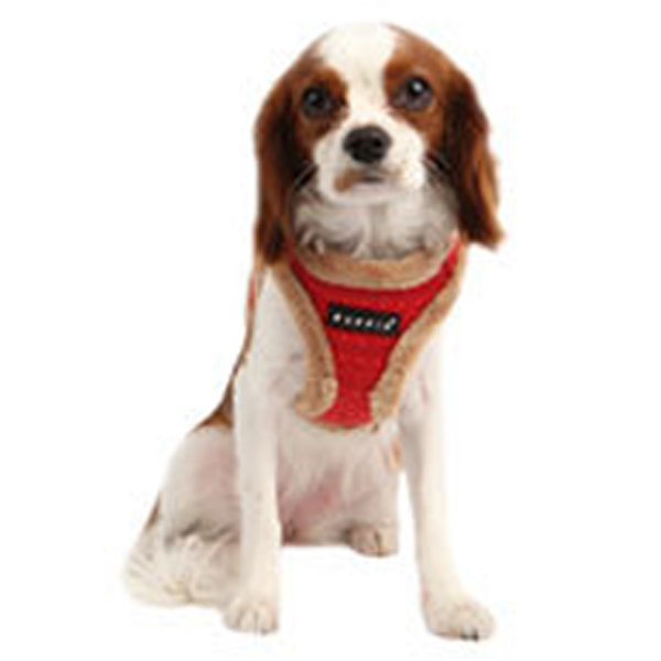 Yuppie Dog Harness by Puppia - Red