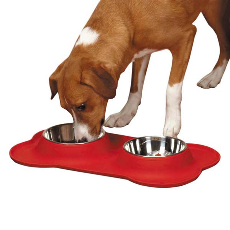 Crave Silicone Dog Diner - Tomato