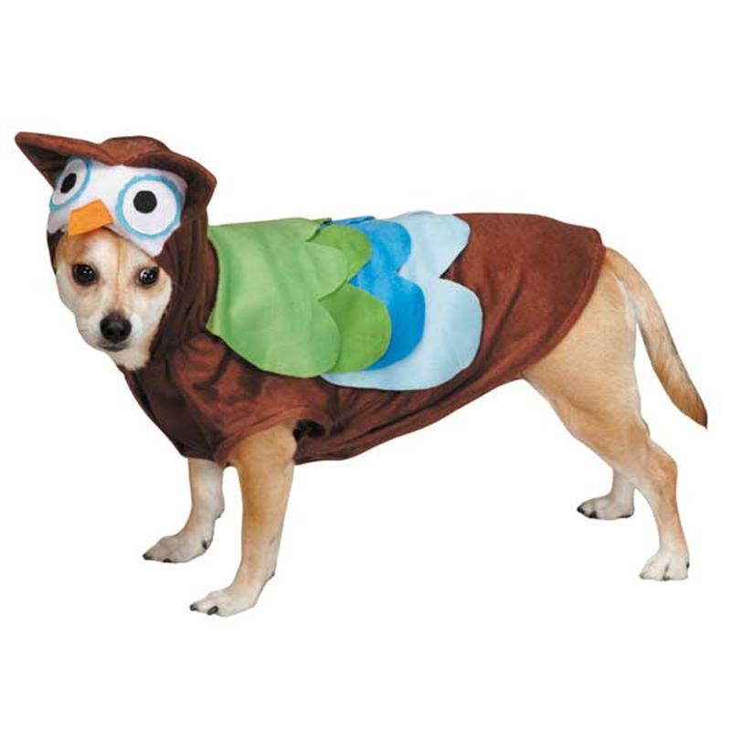 Cute Hoots Halloween Dog Costume