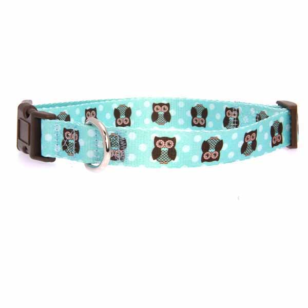 Zack & Zoey Hoot and Howl Dog Collar