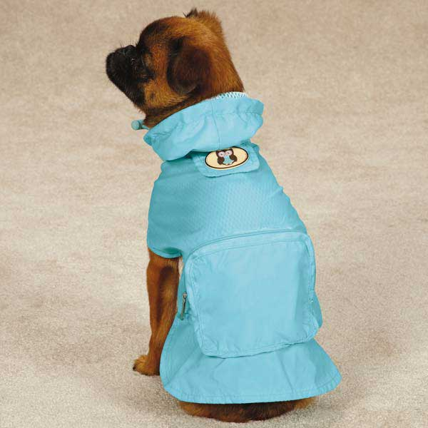 Zack & Zoey Hoot and Howl Stowaway Dog Jacket