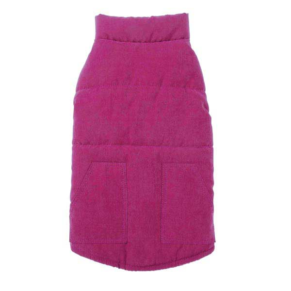Zack & Zoey Ivy League Dog Vest - Deep Raspberry