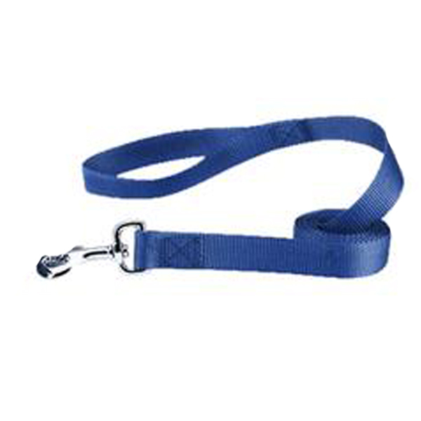 Zack and Zoey Nylon Dog Leash - Nautical Blue