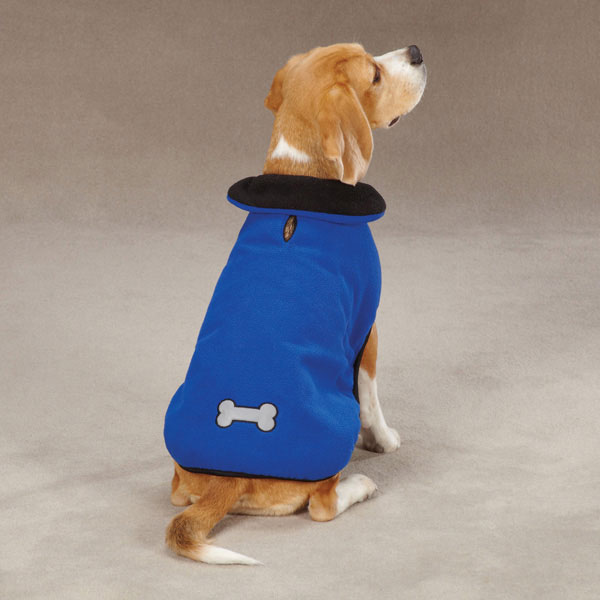 Zack & Zoey  Reflective Thermal Dog Jacket - Blue