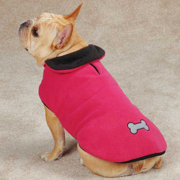 Zack & Zoey Reflective Thermal Dog Jacket - Raspberry