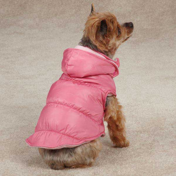 Snow Lodge Dog Vest - Pink