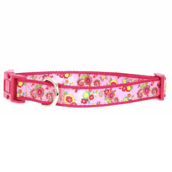 Zack & Zoey Spring Garden Dog Collar