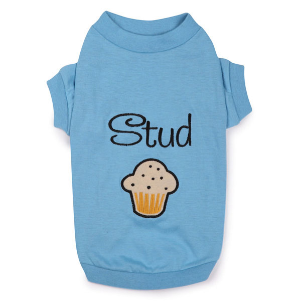 Zack & Zoey Stud Muffin Dog T-Shirt