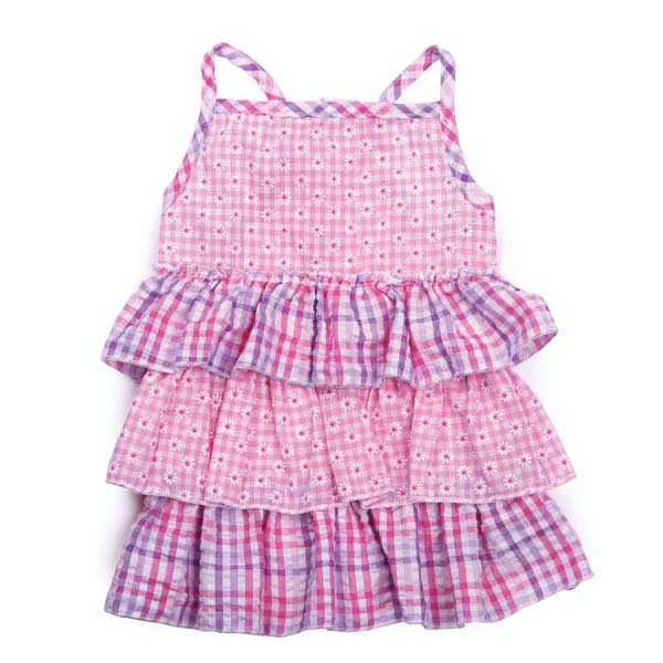 Zack & Zoey Summer Breeze Dog Dress - Pink