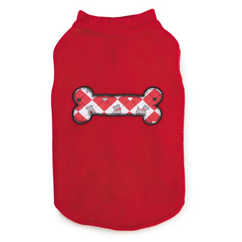 Sweetheart Scottie Fleece Dog Vest