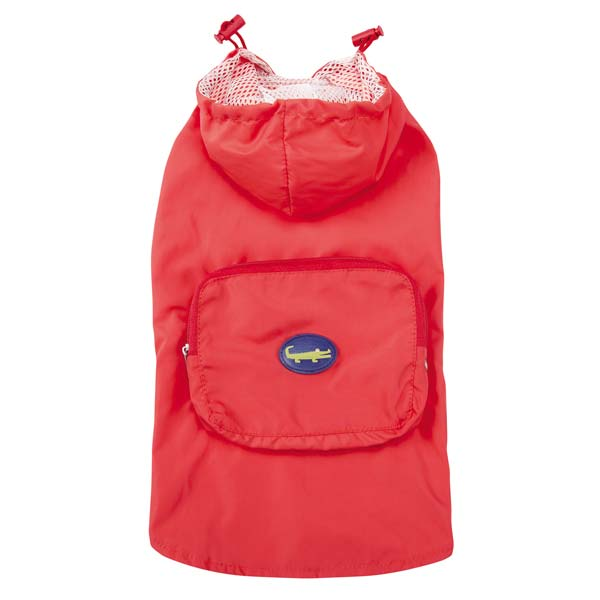 Zack and Zoey Under the Sea Stowaway Dog Jacket - Coral