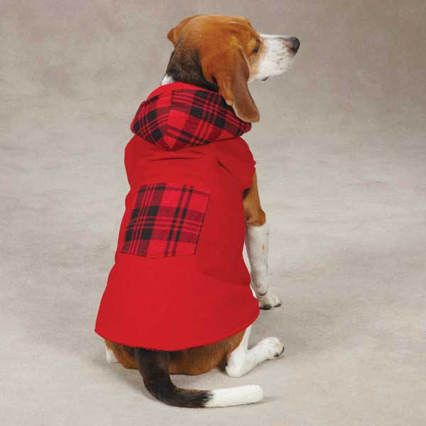 Woodland Dog Jacket - Red