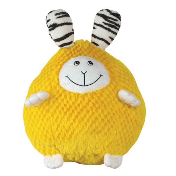 Zanies Bumblies Dog Toy - Yellow