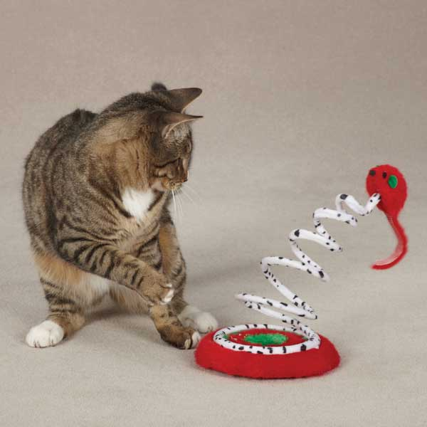 Zanies Christmas Tree Teaser Cat Toy