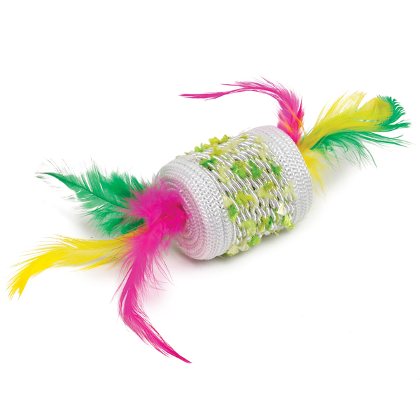 Zanies Fiesta Roller Cat Toy