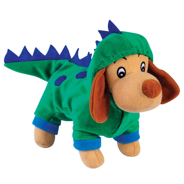 Zanies Halloween Hounds Toy in Costume - Dogzilla Dinosaur