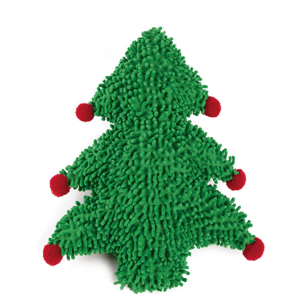 Zanies Holiday Huggable Dog Toy - Christmas Tree