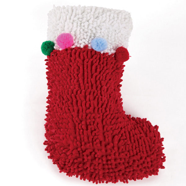Zanies Holiday Huggable Dog Toy - Stocking