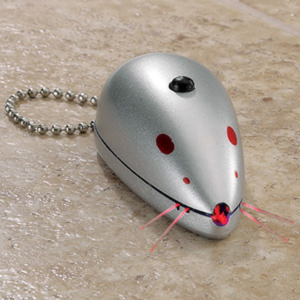 Zanies Laser Mouse Cat Toy