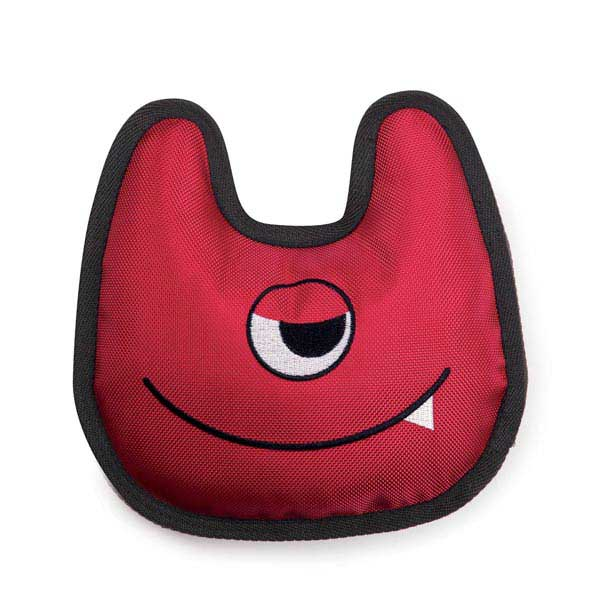 Zanies Mischievous Monster Dog Toy - Red