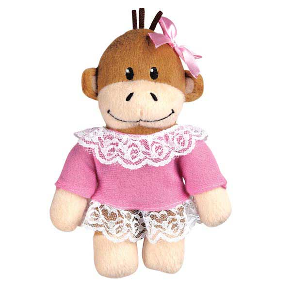 Zanies Monkey Business Mini Dog Toy - Tiff