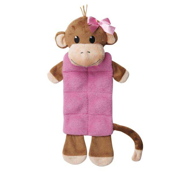Zanies Monkey Business Squeaktacular Dog Toy - Tiff