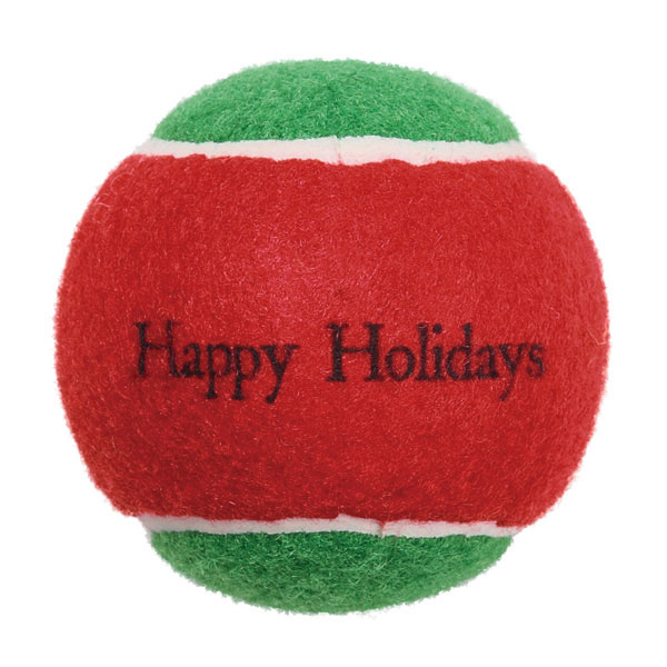 Zanies Naughty & Nice Tennis Ball