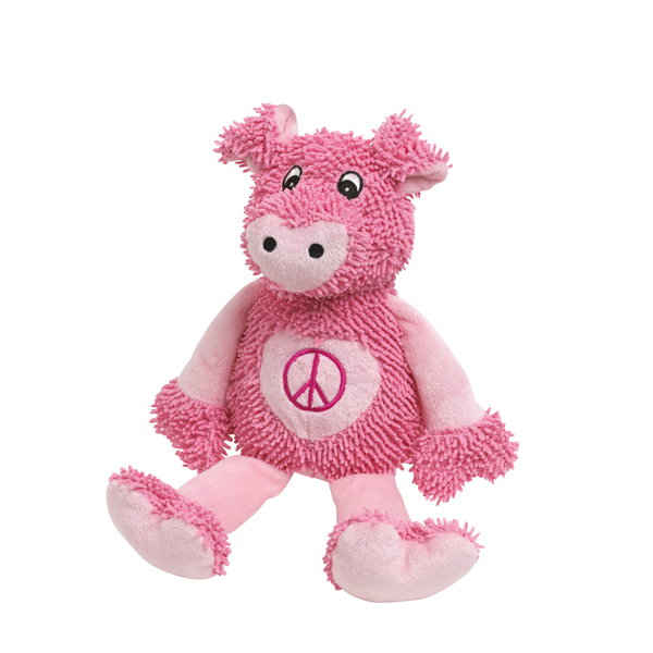 Zanies Peace Party Dog Toy - Hog