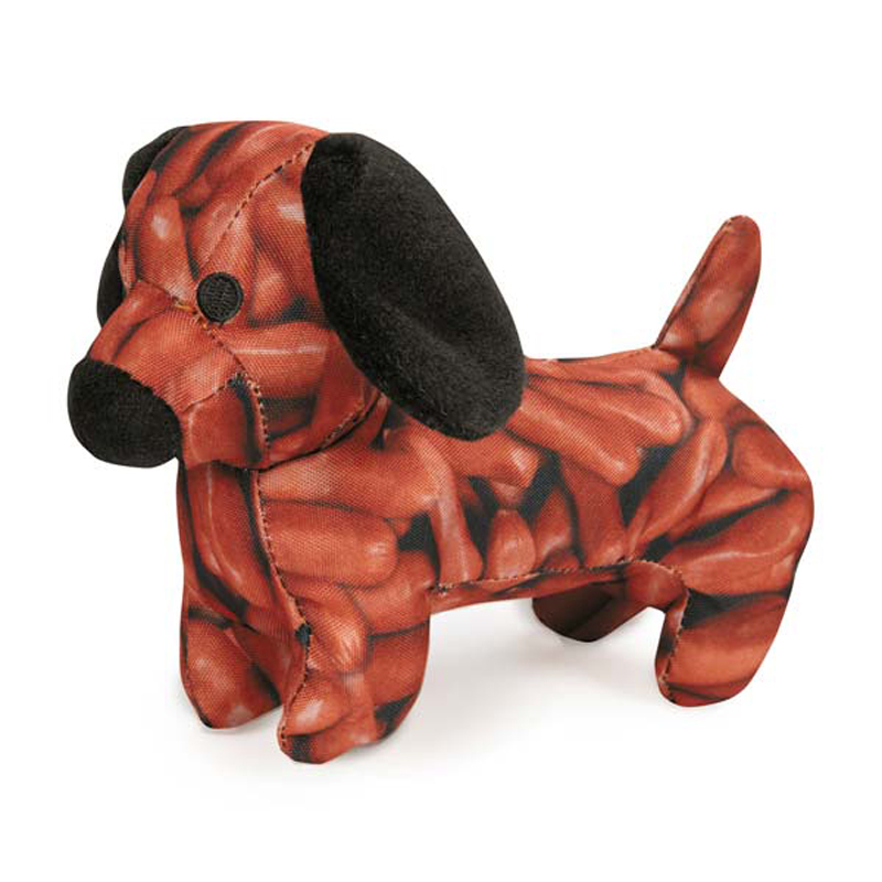 Zanies Photo Real Dog Toy - Diggity Dog