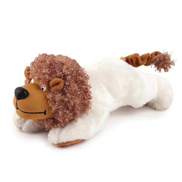 Zanies Playful Pouncers Dog Toy - Lion