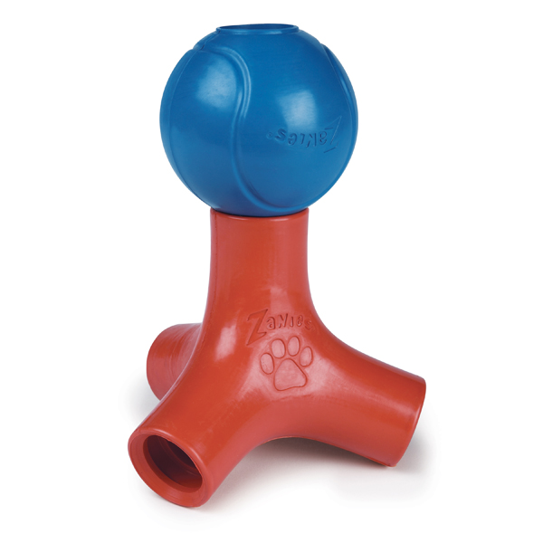 Zanies Puzzle Station Jack & Ball Dog Toy