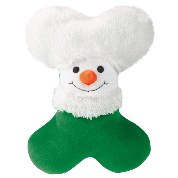 Zanies Snowy Softies Dog Toy - Snowman
