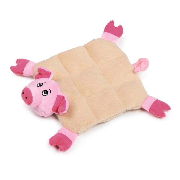 Zanies Squeaktacular Dog Toy - Pig
