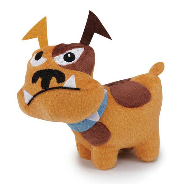 Zanies Tough Dog Mini Dog Toy - Brown