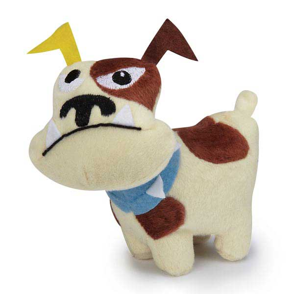 Zanies Tough Dog Mini Dog Toy - Tan