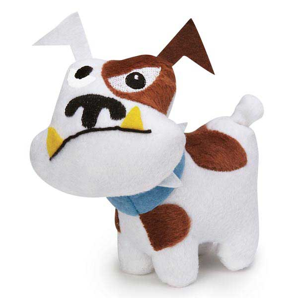 Zanies Tough Dog Mini Dog Toy - White