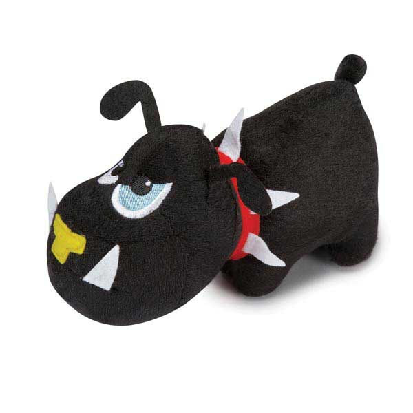 Zanies Tough Dog Toy - Black