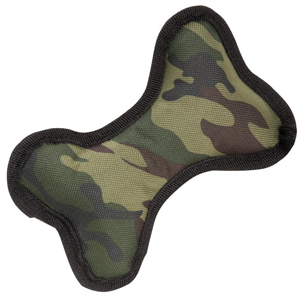 Zanies Toughstructable Camo Bones - Green