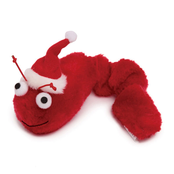 Zanies Winter Wiggler Cat Toy - Red