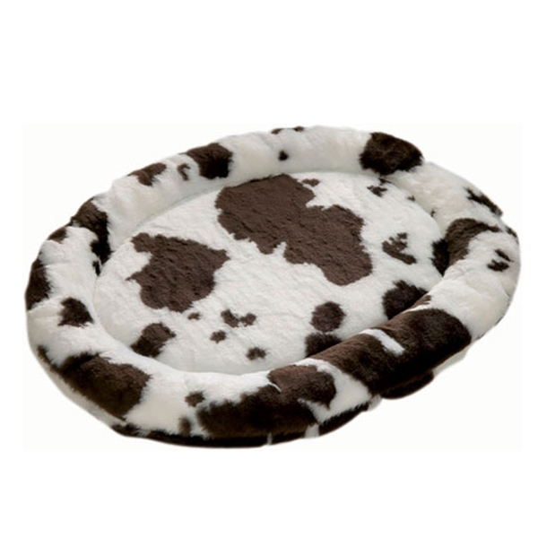 Zoo Rest Oval Pet Bed - Cow