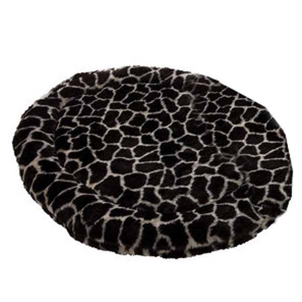 Zoo Rest Oval Pet Bed - Giraffe