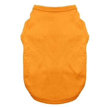 Basic Tank Dog Shirt - Orange Popsicle starting at $5.00!