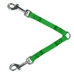 2-Way Coupler Leash by Guardian Gear - Electric Lime