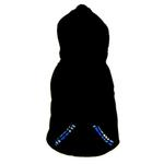 View Image 5 of 4 in 1 Fleece Dog Hoodie and Vest Combination - Blue Plaid