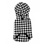 View Image 4 of 4 in 1 Fleece Dog Hoodie and Vest Combination - Houndstooth
